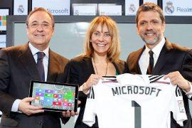 El Real Madrid C.F y Microsoft se unen  en la transformación digital del club