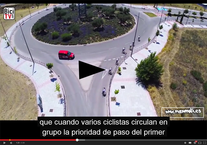 Videos de interes publico - Cómo adelantar a un ciclista con seguridad, Vídeos de interés público, Revista NUVE