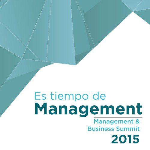 es tiempo de management; evento empresarial de referencia en 2015