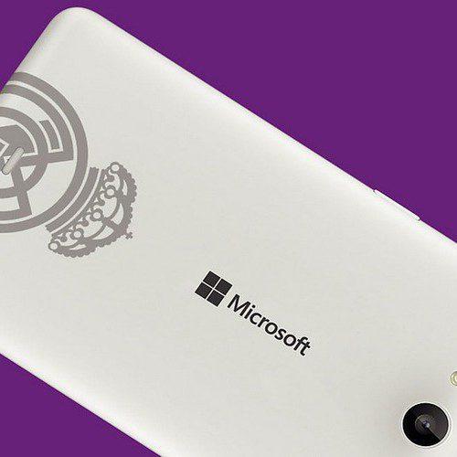 ya disponible la edición especial del microsoft lumia 535 dual sim real madrid