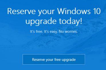 Windows 10 estará disponible el próximo 29 de julio 2