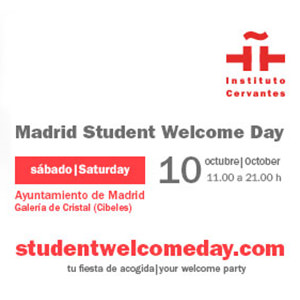 El Instituto Cervantes estará en el Madrid Student Welcome Day 2
