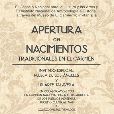 nacimientos el carmen, Belenes en México, Revista NUVE