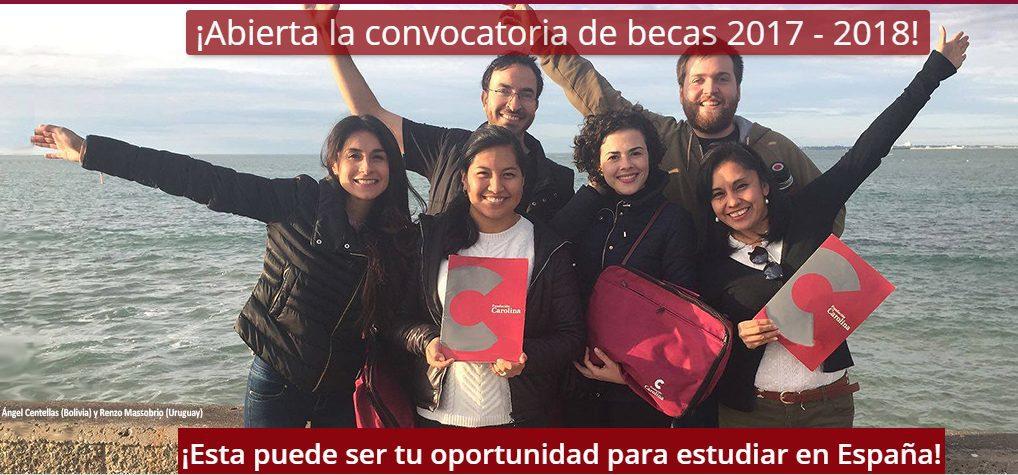 becas 2017-2018 para estudiantes iberoamericanos, Becas 2017-2018 para estudiantes iberoamericanos, Revista NUVE