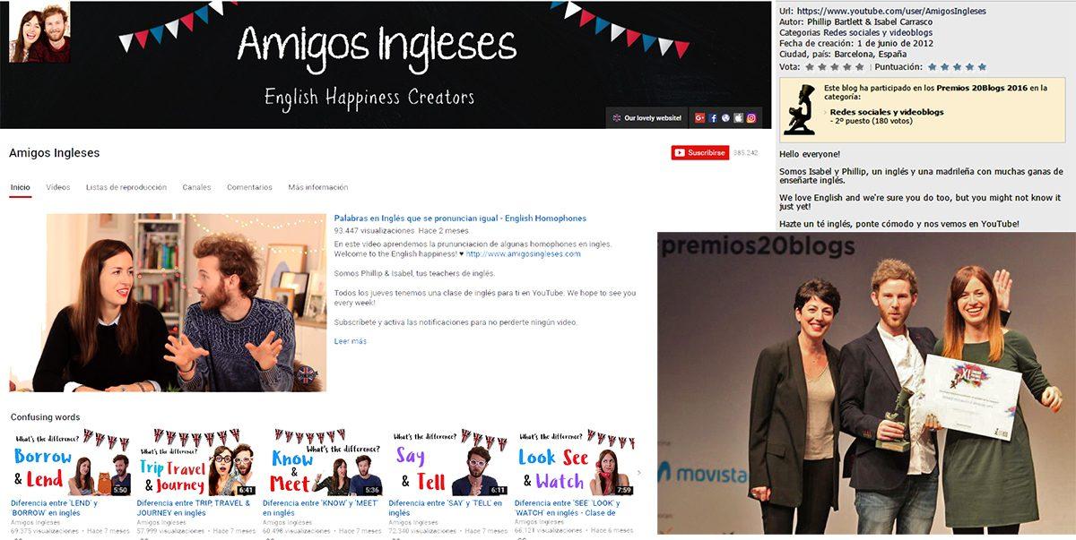 TODOS LOS GANADORES DE LOS PREMIOS 20 Blogs - XI Edición, TODOS LOS GANADORES DE LOS PREMIOS 20 Blogs – XI Edición, Revista NUVE