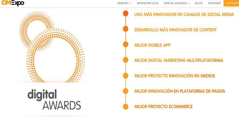 Presenta tu candidatura a los Digital Awards, Presenta tu candidatura a los Digital Awards, Revista NUVE