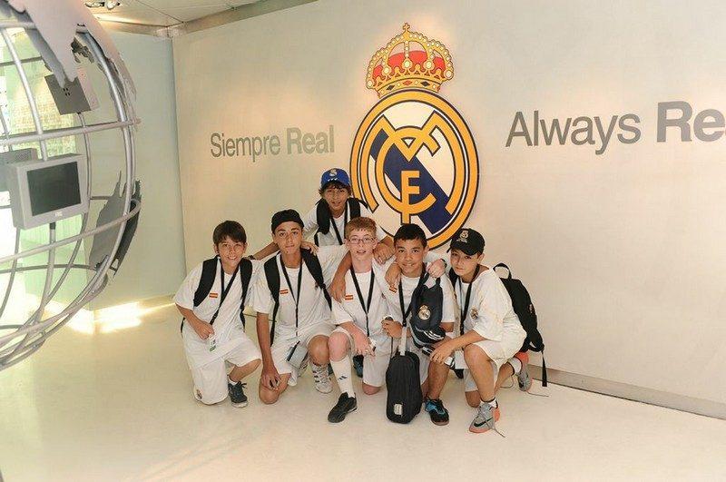 Alumnos de la Fundación Real Madrid en el Trofeo Santiago Bernabéu, Alumnos de la Fundación Real Madrid en el Trofeo  Santiago Bernabéu, Revista NUVE