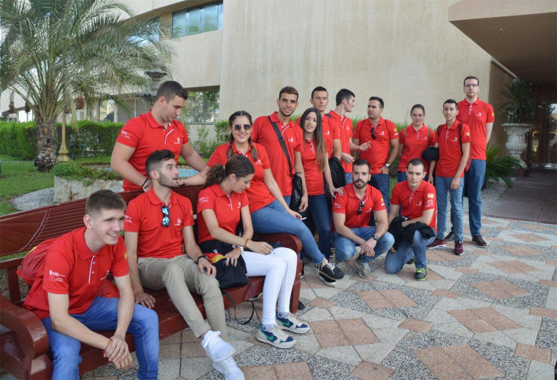Veinticinco estudiantes españoles de Formación Profesional, 44ª World Skills de Abu Dhabi 2017, Veinticinco estudiantes españoles de Formación Profesional, 44ª World Skills de Abu Dhabi 2017 , Revista NUVE