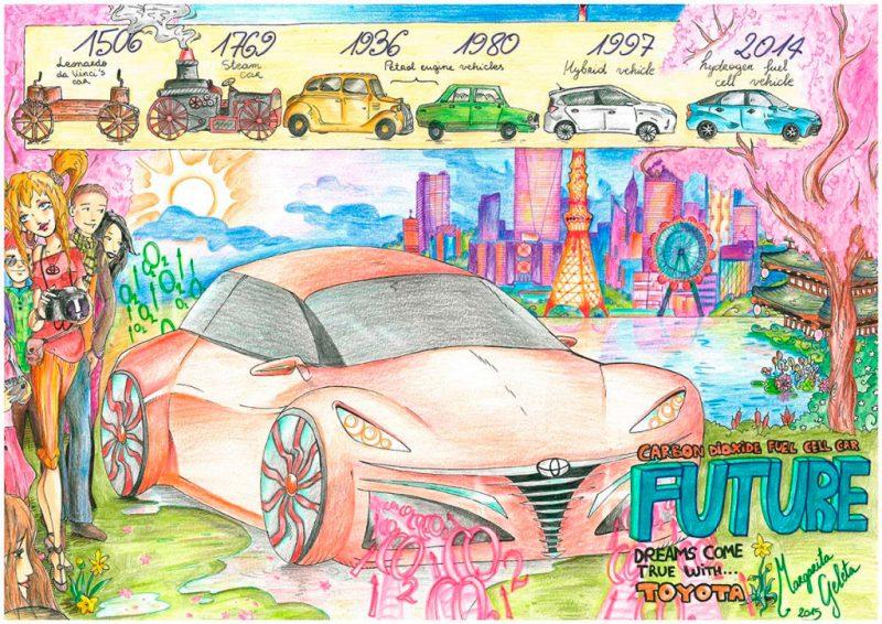 Toyota España lanza una nueva edición del concurso de dibujo infantil 'Toyota Dream Car Art Contest', Toyota España lanza una nueva edición del concurso de dibujo infantil 'Toyota Dream Car Art Contest', Revista NUVE