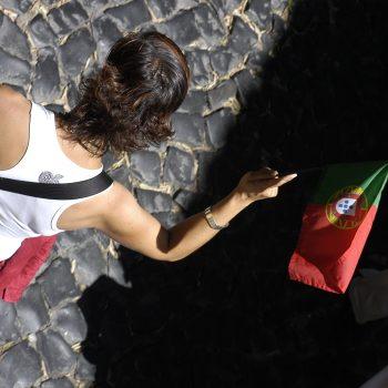 Turista portuguesa