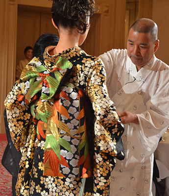 Nobuaki Tomita, uno de los mejores diseñadores de kimonos del mundo, visitará Madrid, Nobuaki Tomita, uno de los mejores diseñadores de kimonos del mundo, visitará Madrid, Revista NUVE
