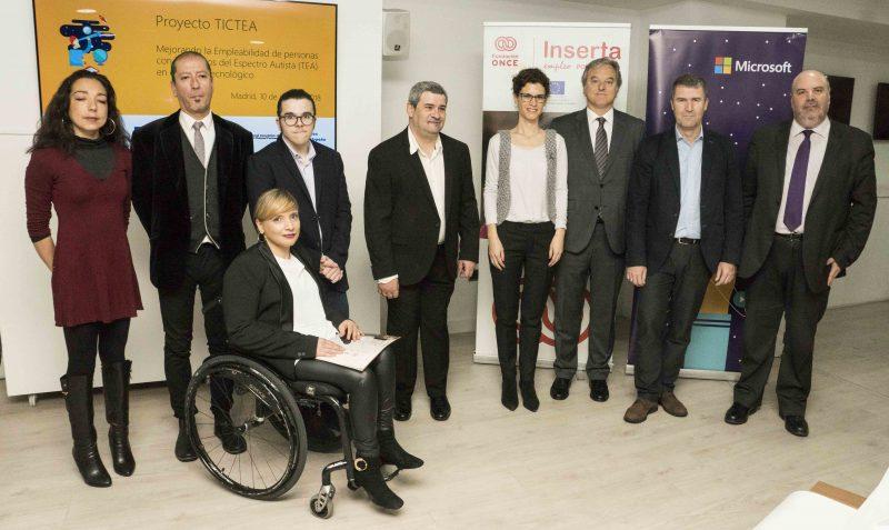 Microsoft y Fundación ONCE presentan el Proyecto TICTEA, Microsoft y Fundación ONCE presentan el Proyecto TICTEA, Revista NUVE