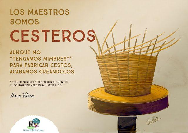 LOS MAESTROS SOMOS CESTEROS, LOS MAESTROS SOMOS CESTEROS, Revista NUVE