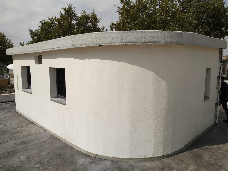 UPV presenta la primera casa de España construida con impresora 3D ...