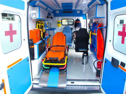 ambulancia interior
