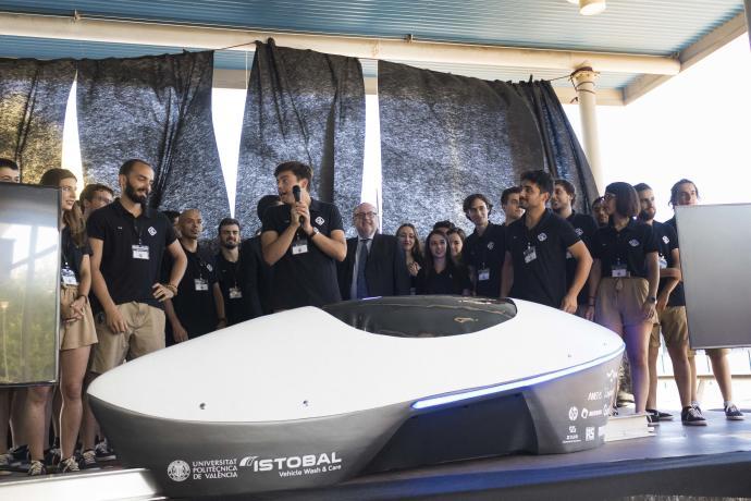 La UPV acaba entre las 8 mejores del mundo en la Hyperloop Pod, La UPV acaba entre las 8 mejores del mundo en la Hyperloop Pod, Revista NUVE