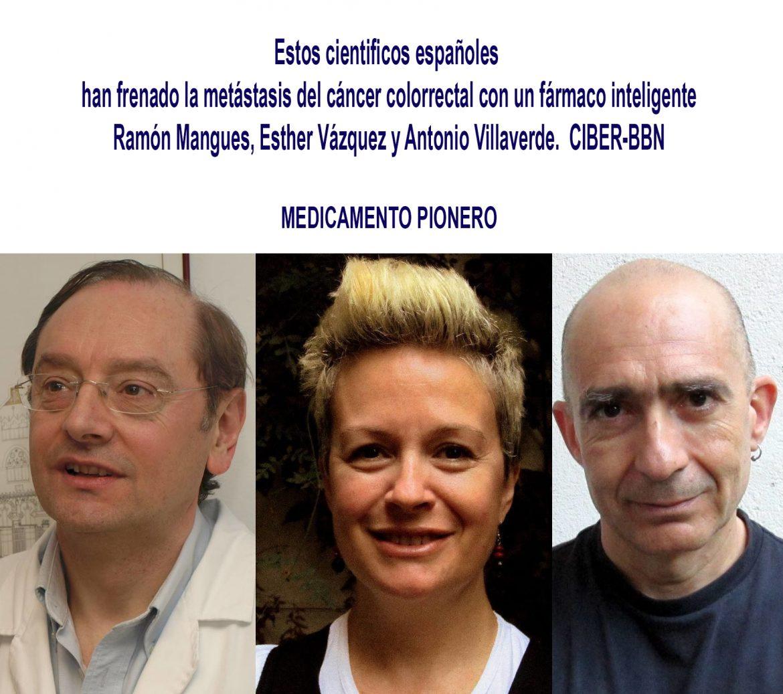 Un nanofármaco para la prevención de la metástasis en el cáncer colorrectal Estos españoles han frenado la metástasis colorrectal con un fármaco inteligente., Un nanofármaco para la prevención de la metástasis en el cáncer colorrectal., Revista NUVE