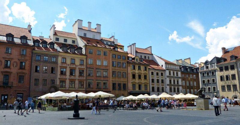 Varsovia para comersela