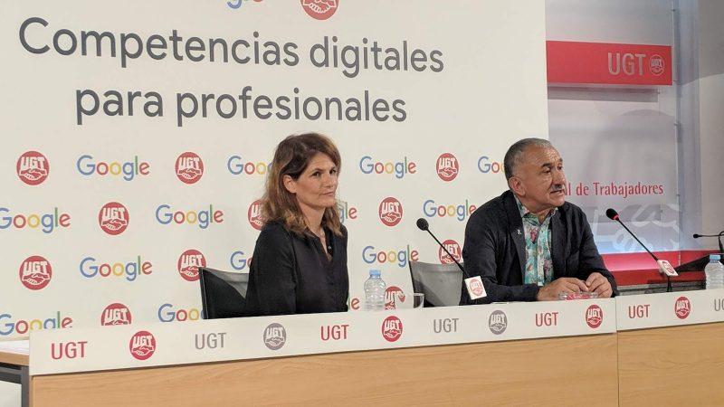 acuerdo UGT y Google