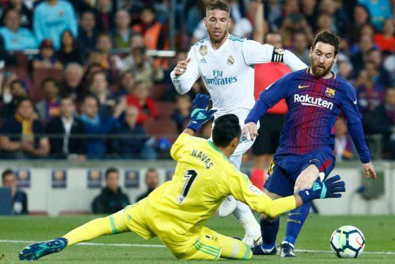Messi y Ramos
