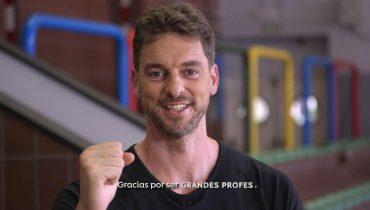 Pau Gasol - Dia Mundial de los profesores- Fundacion A3 Media/Foundation Gasol