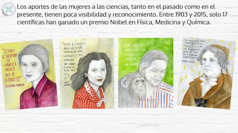 Mujeres Nobel de Ciencias, Mujeres Nobel de Ciencias, Revista NUVE