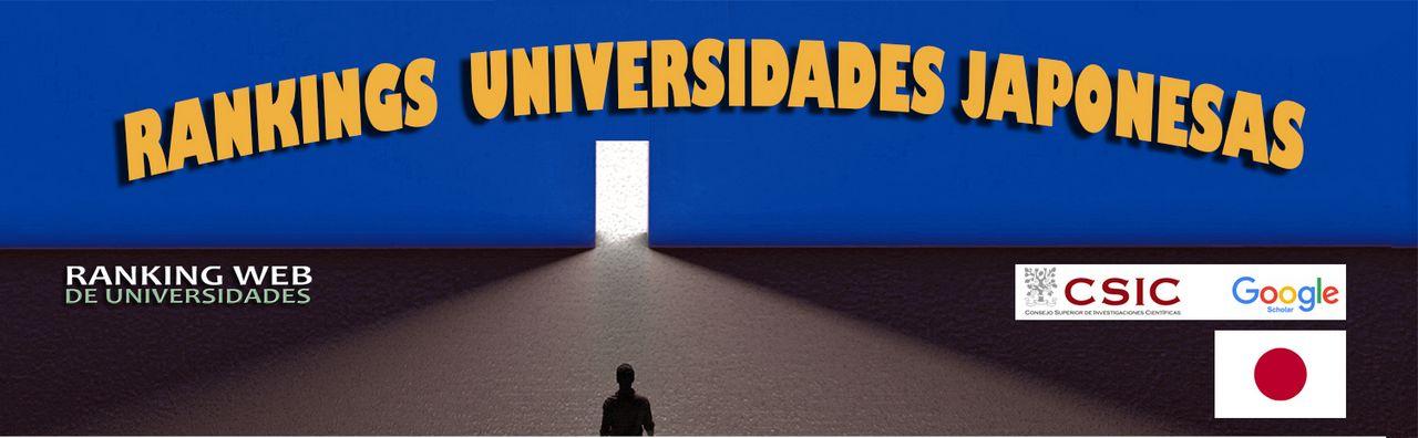 Ranking Web de Universidades : Japón, Ranking Web de Universidades :  Japón, Revista NUVE