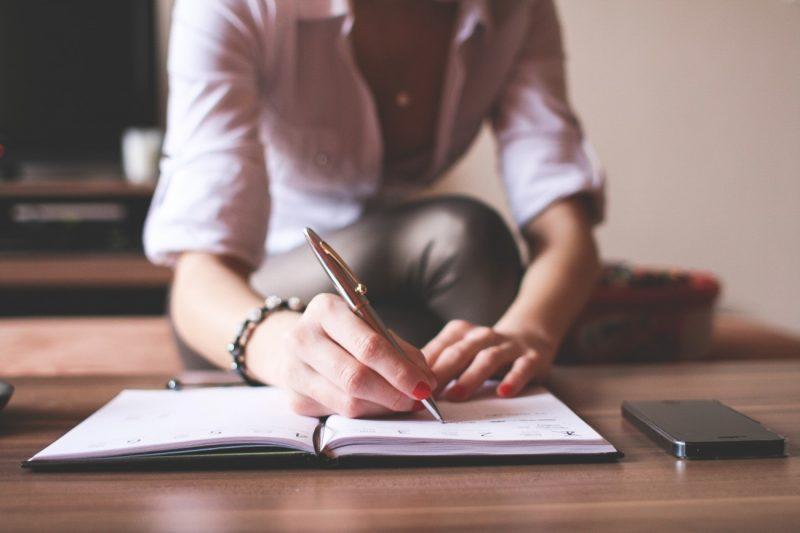 Girl-Writing-in-a-Diary