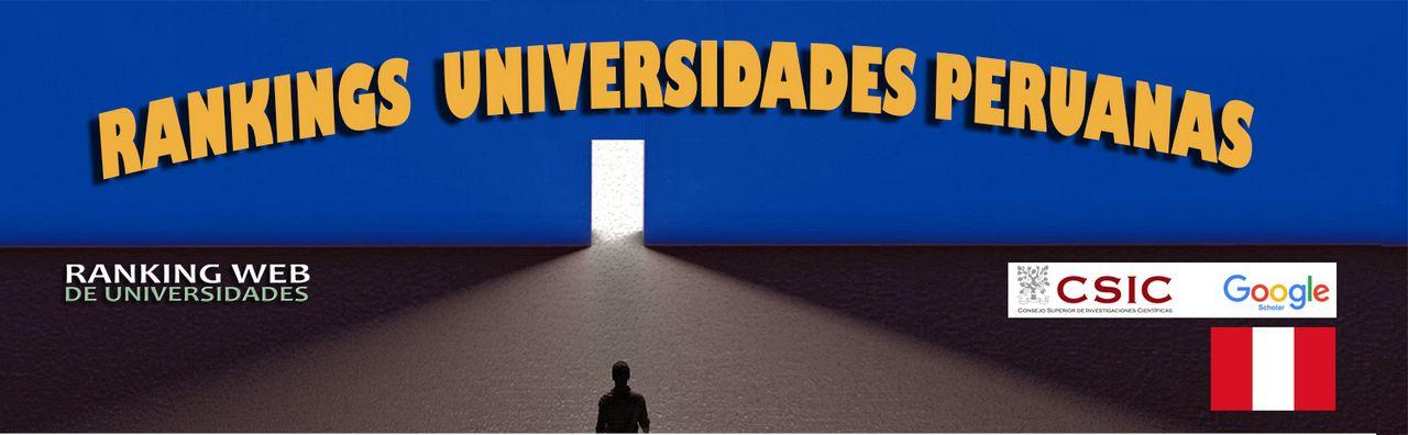Ranking Web de Universidades Perú, Ranking Web de Universidades Perú, Revista NUVE
