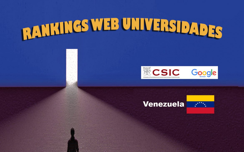 Ranking Web de Universidades Venezuela, Ranking Web de Universidades Venezuela, Revista NUVE