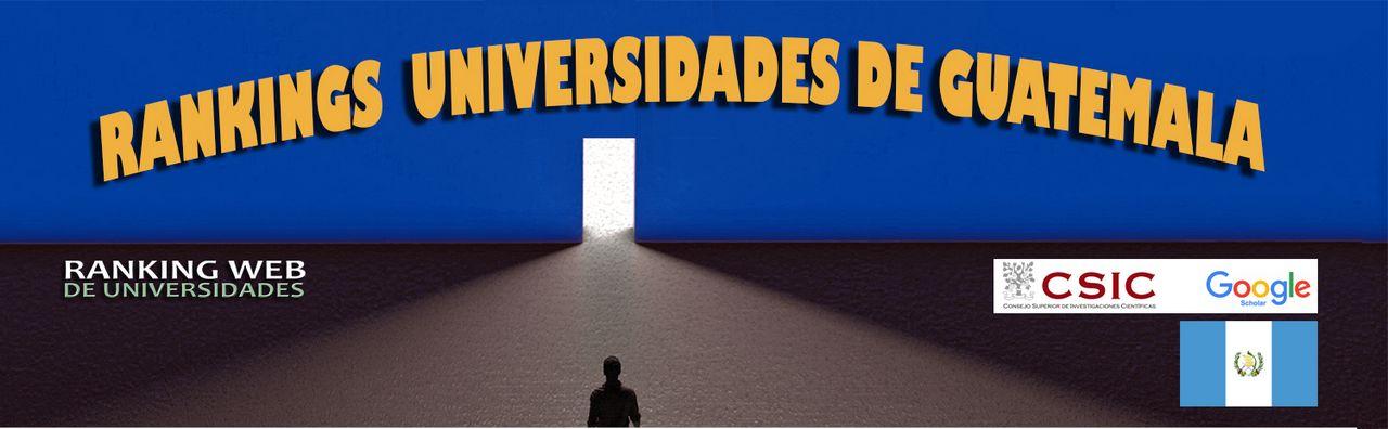 Ranking Web de Universidades Guatemala, Ranking Web de Universidades Guatemala, Revista NUVE