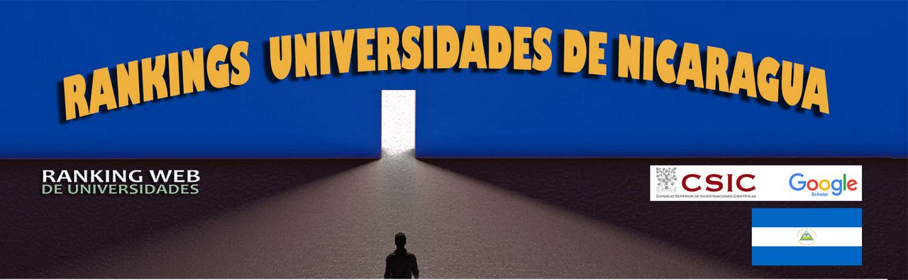 Ranking Web Universidades de Nicaragua, Ranking Web Universidades de Nicaragua, Revista NUVE