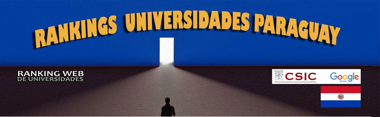 Ranking Web Universidades de Paraguay, Ranking Web Universidades de Paraguay, Revista NUVE