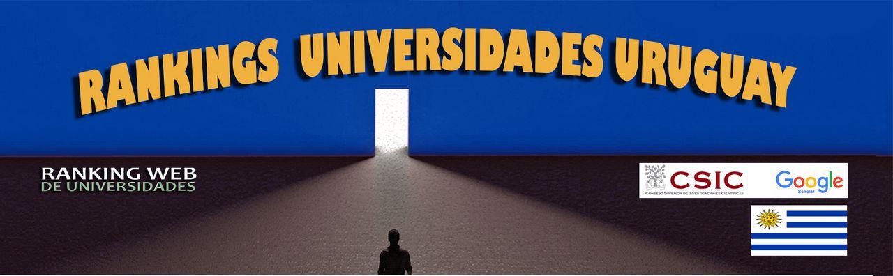 Ranking Web Universidades de Uruguay, Ranking Web Universidades de Uruguay, Revista NUVE