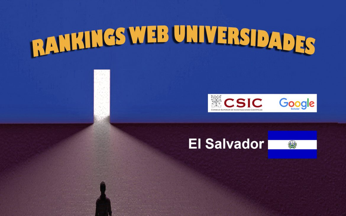 Ranking Web Universidades de El Salvador, Ranking Web Universidades de El Salvador, Revista NUVE