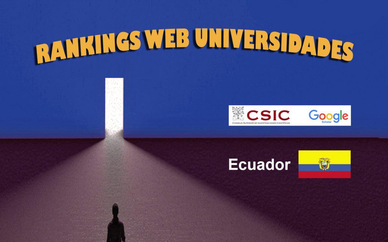 Ranking Web de Universidades de Ecuador, Ranking Web de Universidades de Ecuador, Revista NUVE