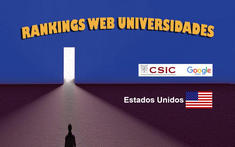Ranking Web de Universidades Estados Unidos, Ranking Web de Universidades Estados Unidos, Revista NUVE