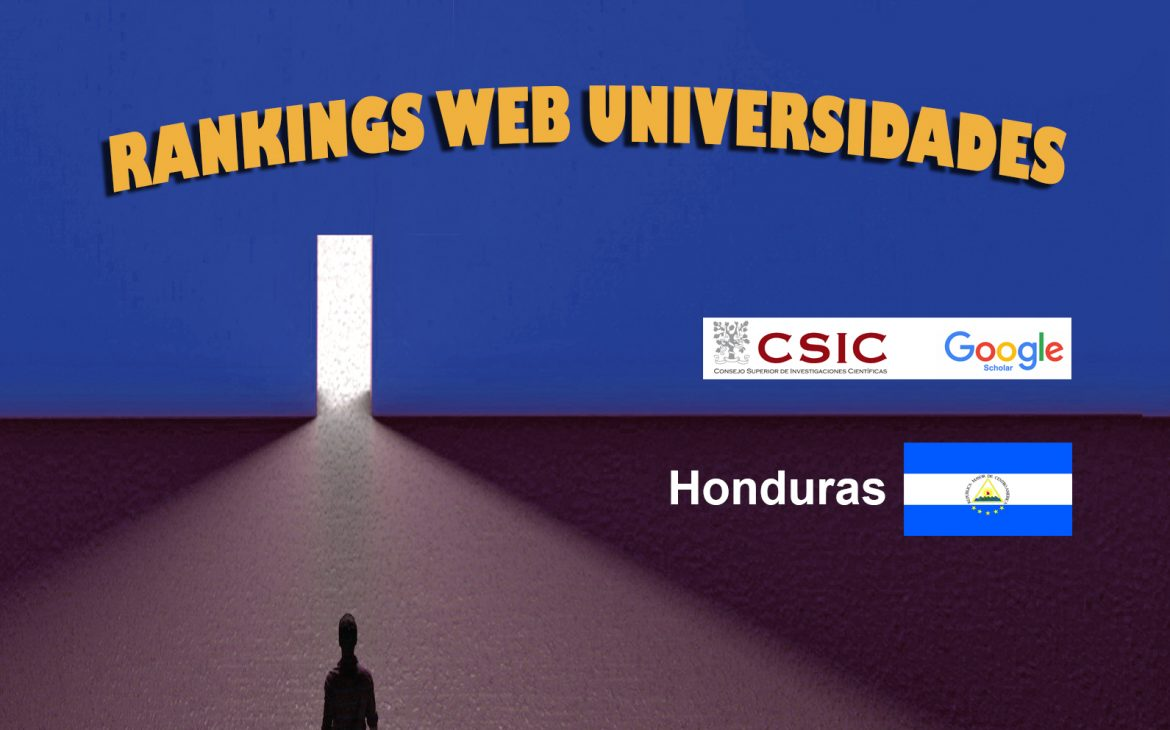 Ranking Web Universidades de Honduras, Ranking Web Universidades de Honduras, Revista NUVE