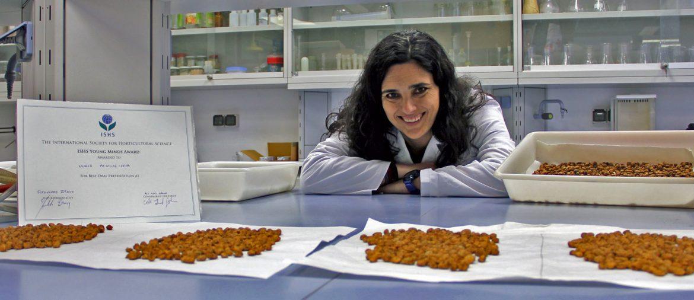La investigadora de la UPV, Núria Pascual-Seva premio ISHS, La investigadora de la UPV, Núria Pascual-Seva premio ISHS, Revista NUVE