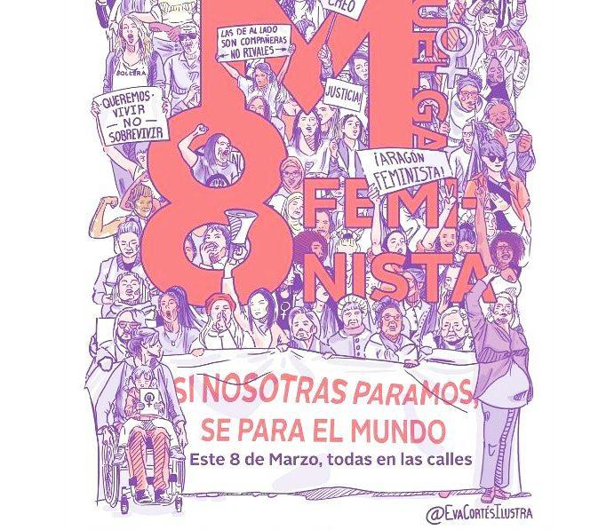 , 8 de Marzo , día internacional de la mujer  por la igualdad, Revista NUVE