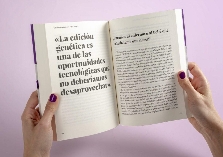 Editando genes, Editando genes: recorta, pega y colorea, Revista NUVE