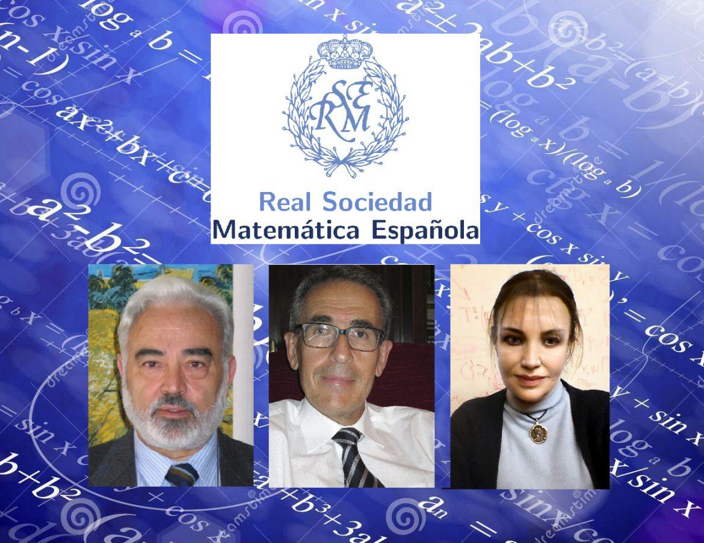 Medallas RSME a la trayectoria matemática