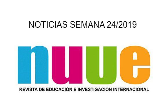 NOTICIAS NUVE 24/2019, Noticias NUVE, Revista NUVE