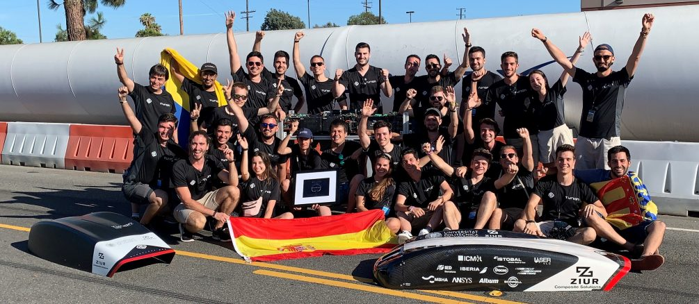 Hyperloop Pod Competition para el equipo UPV, Hyperloop Pod Competition para el equipo UPV, Revista NUVE