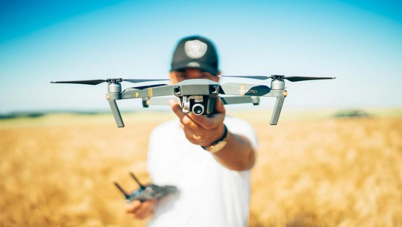Drones buscan cereal