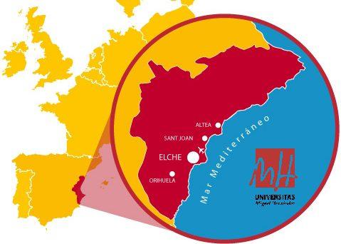 La UMH Internacional, La UMH  Internacional : Mexico , China , Brasil,  Portugal , Santo Domingo, Revista NUVE