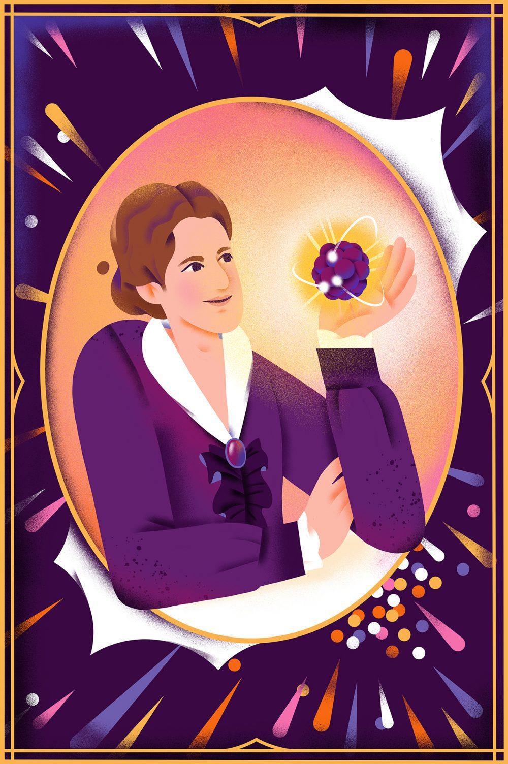 UV, Recordando a Lise Meitner en el día de la Mujer