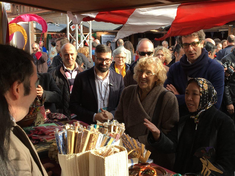 La Navideña Feria de las Culturas aúna religiones e ideologías en Madrid, La Navideña Feria de las Culturas aúna religiones e ideologías en Madrid, Revista NUVE