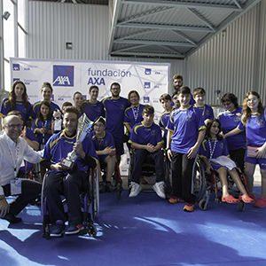 las estrellas del equipo de axa de natación triunfan en el campeonato de españa de promesas de valdemoro